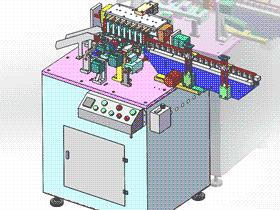 电容剪脚弯脚成型机 ZDEA2002