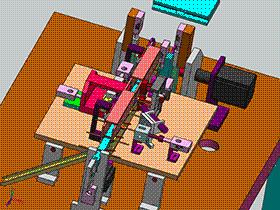二极管套磁环剪脚成型排出一体式结构设备 ZDEA2004 solidworks  3D图纸 三维模型