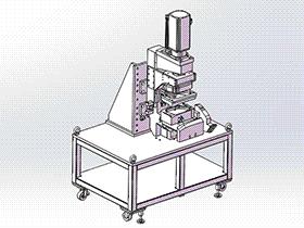 钣金成型机 ZDED1003 solidworks 3D图纸 三维模型