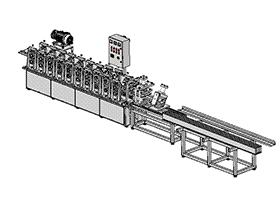 型材成型机 ZDED1006 solidworks 3D图纸 三维模型