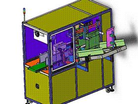 包装纸盒自动成型设备 ZDEH1003 solidworks  3D图纸 三维模型