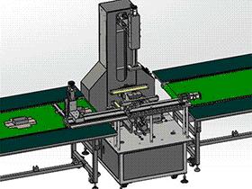 礼品盒包装成型机 ZDEH1004 solidworks  3D图纸 三维模型