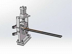 zdei1003_隐蔽辊成型机快速切削 solidworks 3D图纸 三维模型
