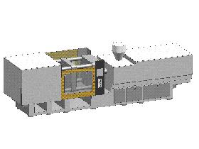 注塑机(外形图) zdem1002 solidworks 3D图纸 三维模型