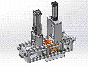 微型注塑机 zdem1007 solidworks 3D图纸 三维模型