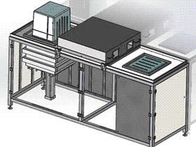 热塑成型机吸塑机 带工程图 ZDEM2002 solidworks 3D图纸 三维模型