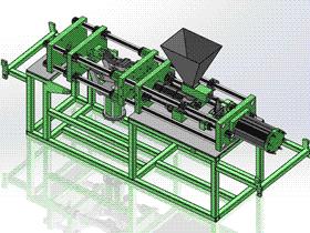 注射机 带工程图 ZDEM2003 solidworks 3D图纸 三维模型