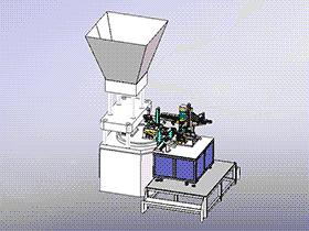 医疗产品埋入五金注塑机 ZDEM2007 solidworks 3D图纸 三维模型