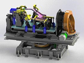 焊接变位机  ZDFB1004 solidworks  3D图纸 三维模型