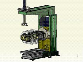 焊接工装变位机  ZDFB1012 solidworks  3D图纸 三维模型