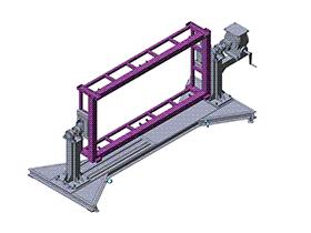 变位机  ZDFB1014 solidworks  3D图纸 三维模型