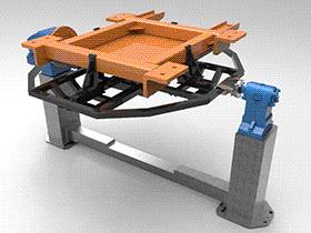 变位机 ZDFB1017 solidworks  3D图纸 三维模型