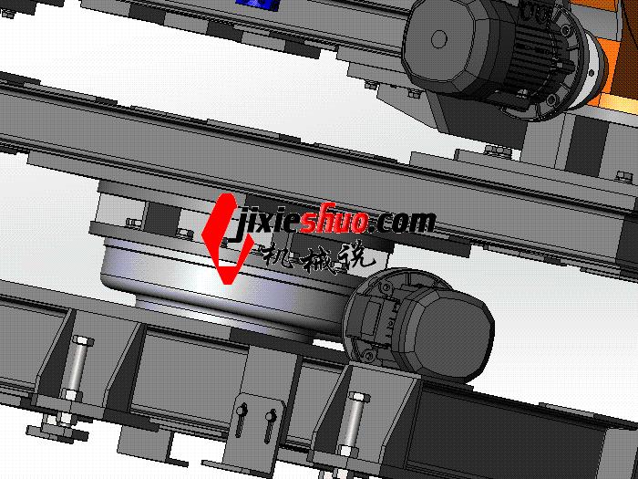 旋转变位机 ZDFB1018 通用格式 3D图纸 三维模型
