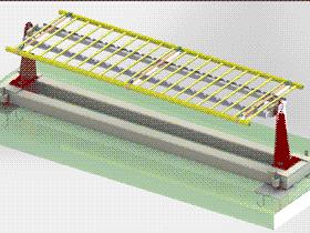 手动式可变位焊接工装 转位夹具 ZDFB2001 solidworks  3D图纸 三维模型