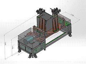 变位机 焊接变位机 ZDFB2003 solidworks  3D图纸 三维模型