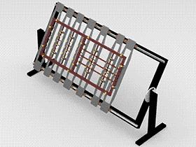 手动式旋转工装 ZDFB2009 solidworks  3D图纸 三维模型