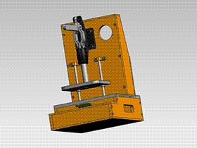 测试P板手动夹具 ZDFE1002 solidworks  3D图纸 三维模型