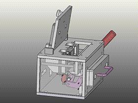 测试夹具--感度检查器 ZDFE1003 solidworks  3D图纸 三维模型