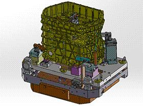 铸铝件液压工装夹具 zdfg2003 solidworks 3D图纸 三维模型