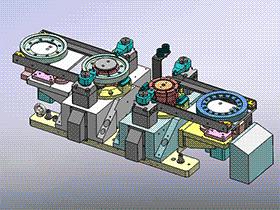 齿轮夹具图 zdfg2004 solidworks 3D图纸 三维模型