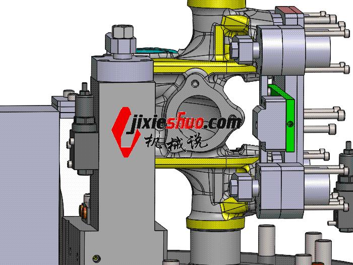 立车液压夹具图 zdfg2011 solidworks 3D图纸 三维模型