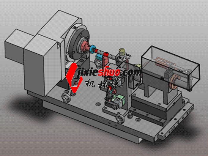 中间轴液压夹具组立图 zdfg2013 solidworks 3D图纸 三维模型