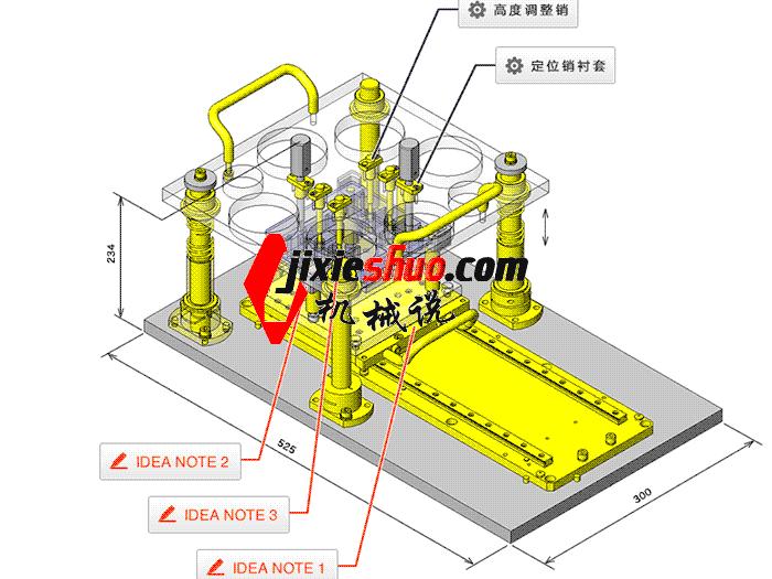 孔槽深度检测夹具 zdfi1004 solidworks 3D图纸 三维模型