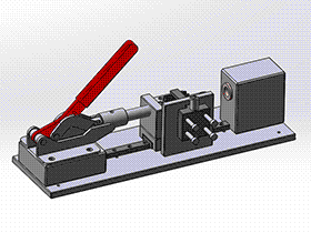 皮套组装夹具 zdfi1005 solidworks 3D图纸 三维模型