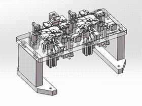 数控机床夹具 zdfi1006 solidworks 3D图纸 三维模型