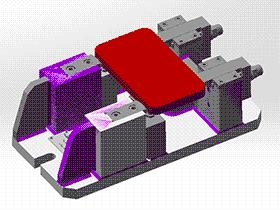 铣床铣削夹具模型设计 zdfi1007 solidworks 3D图纸 三维模型