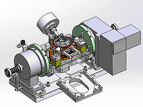 油泵前壳体OP10夹具图 zdfi1008 solidworks 3D图纸 三维模型