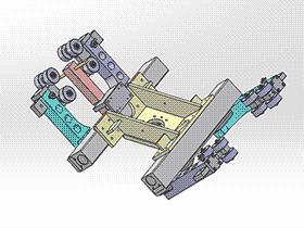 装配夹具 zdfi1011 solidworks 3D图纸 三维模型