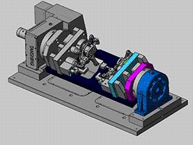 汽车零件焊接工装夹具 ZDFQ1014 solidworks 3D图纸 三维模型