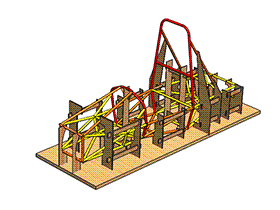 zdfq2002_车架焊接工装 solidworks 3D图纸 三维模型