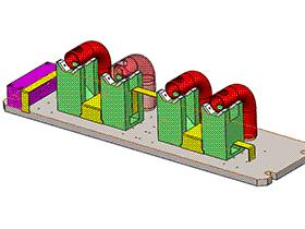 zdfq2003_柳州五凌夹具 solidworks 3D图纸 三维模型