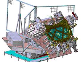 汽车引擎盖机器人自动焊接工作站(焊接夹具+转台系统) 3D模型 ZDFQ6012