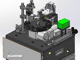 线路板测试设备 ZDJA1001 solidworks  3D图纸 三维模型