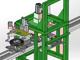 线圈磁路通断检测装置 ZDJA1002 solidworks  3D图纸 三维模型