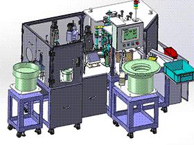 检测装置一体机模型 ZDJA1003 solidworks  3D图纸 三维模型