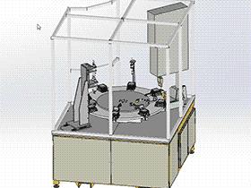 试验机 ZDJA1006 solidworks  3D图纸 三维模型