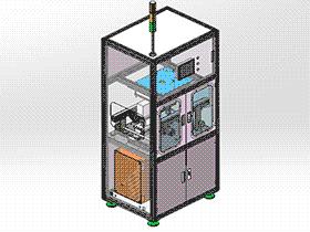 在线电路板PCT测试设备 ZDJA2001 solidworks 3D图纸 三维模型