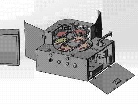 PCB板组装测试设备 ZDJA2002 solidworks 3D图纸 三维模型