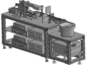 弯曲自检机 带工程图 ZDJA2003 solidworks 3D图纸 三维模型