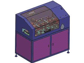 电子产品检测机 ZDJA2004 solidworks 3D图纸 三维模型