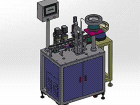 电子产品检测机 ZDJA2005 solidworks 3D图纸 三维模型