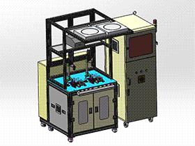 zdjb1003_测试机 solidworks 3D图纸 三维模型