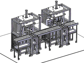 zdjb1007_双工位气水双检测测漏设备 solidworks 3D图纸 三维模型