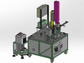 插针测试机 zdjb2001 solidworks 3D图纸 三维模型