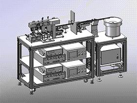 弯曲自检机 带工程图 zdjb2002 solidworks 3D图纸 三维模型