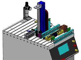 测试机 zdjb2004 solidworks 3D图纸 三维模型